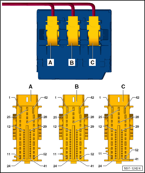 ремонт блока бортовой сети шкода а5